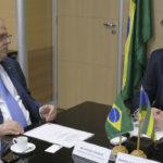 Belivaldo se reúne com ministro do Desenvolvimento Regional para tratar sobre liberação de recursos