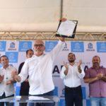 Edvaldo autoriza início das obras nos loteamentos Santa Catarina, Isabel Martins e Guarujá