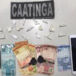 Ciopac prende dois por tráfico de drogas em Nossa Senhora da Glória