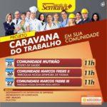 Prefeitura de Nossa Senhora do Socorro realizará nova edição do projeto Caravana do Trabalho