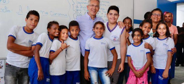 Investimentos em educação superam mais de R$ 3 milhões em São Cristóvão