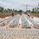 Moradores de povoado em Lagarto se orgulham de pavimentação executada pelo Governo do Estado