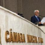 Na Câmara, prefeito faz balanço de 3 anos da gestão e apresenta projetos para o futuro de Aracaju