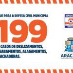 Defesa Civil de Aracaju emite alerta devido a alta da maré para os próximos dias