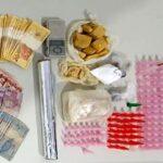 Policiais militares prendem jovem por tráfico de drogas no Bairro América